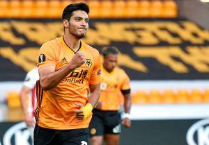 Raúl Jiménez regresó a los entrenamientos con el Wolverhampton