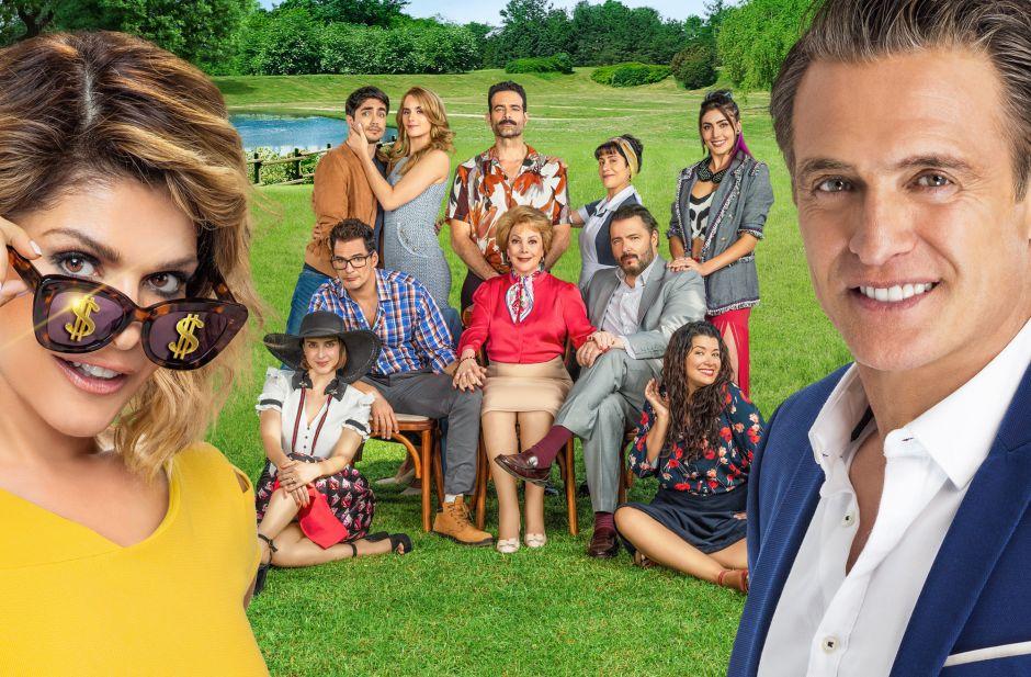Así es la historia de 'La Mexicana y El Güero', la nueva telenovela con Itatí Cantoral y Juan Soler