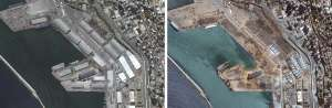 Beirut: Imágenes satelitales del antes y después de las explosiones