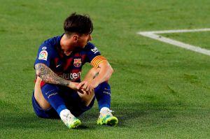 Leo Messi sufrió una fuerte contusión, pero jugará ante el Bayern Múnich pase lo que pase