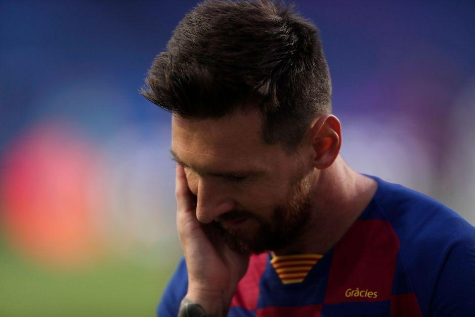 Devastadora: la imagen de Leo Messi que se hizo viral luego de la humillación del Barcelona