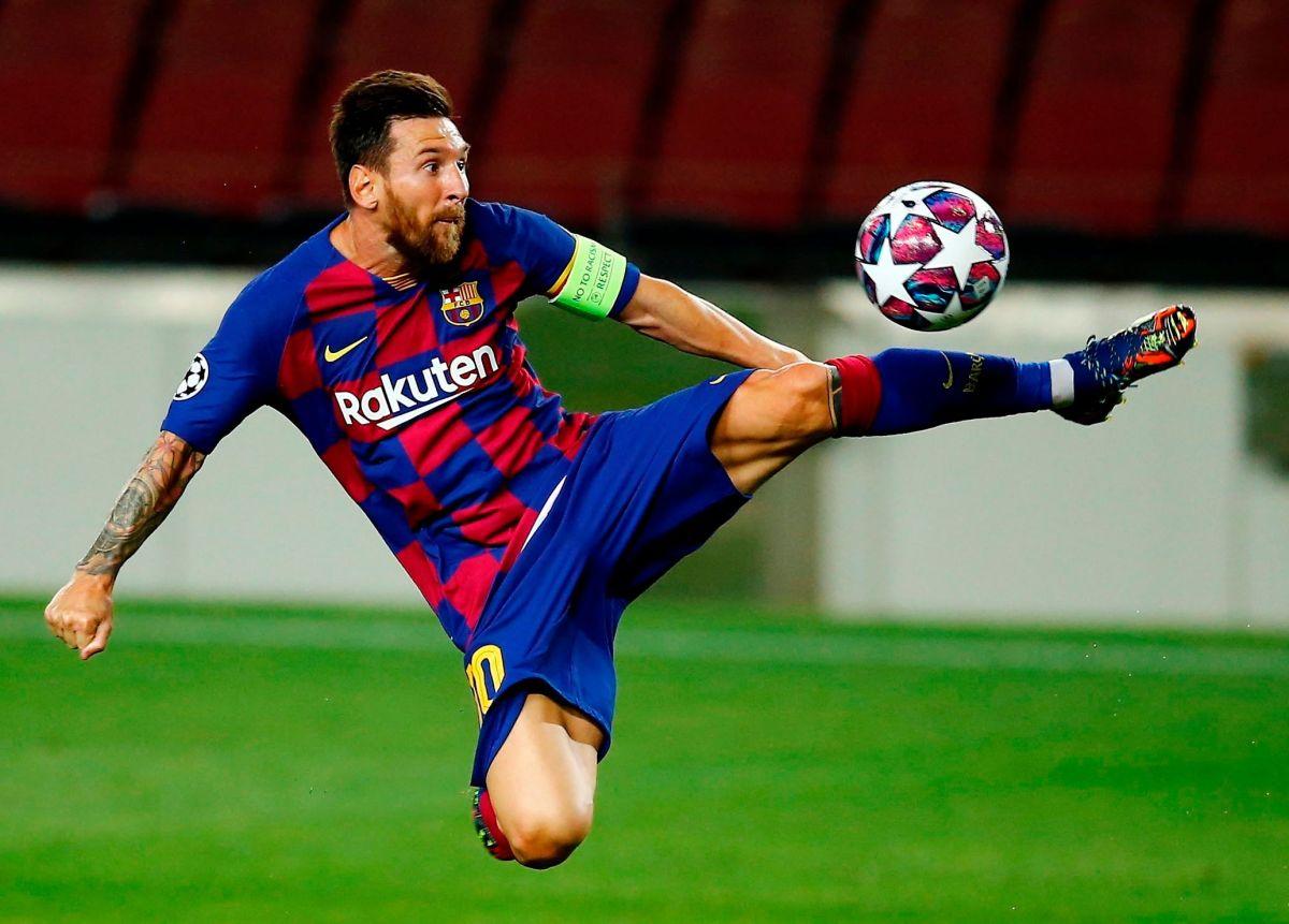 ¿Comprometido y contento? Lionel Messi entrenó en su día de descanso, sonrió y volvió a ilusionar a los fans