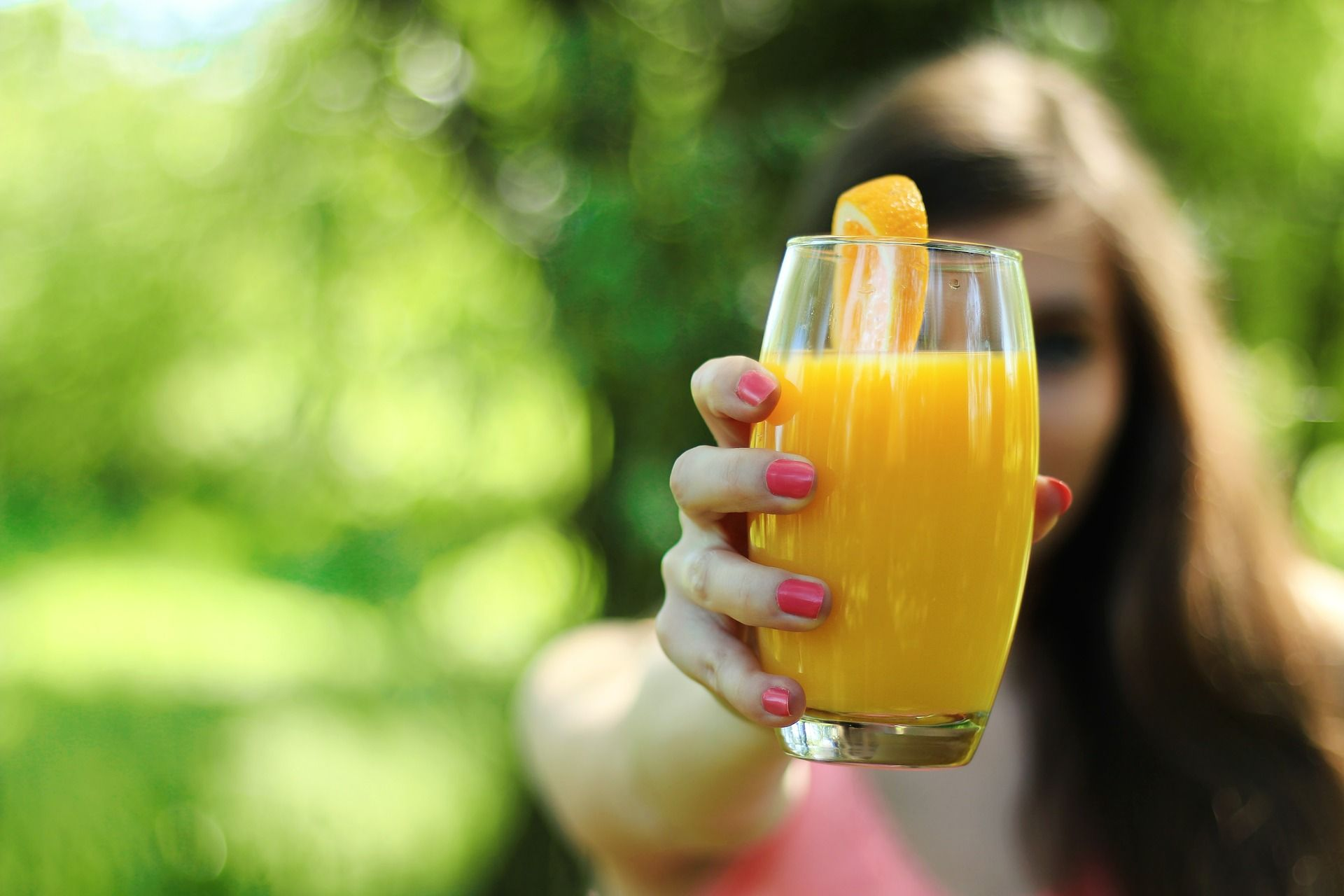 Jugo de naranja.