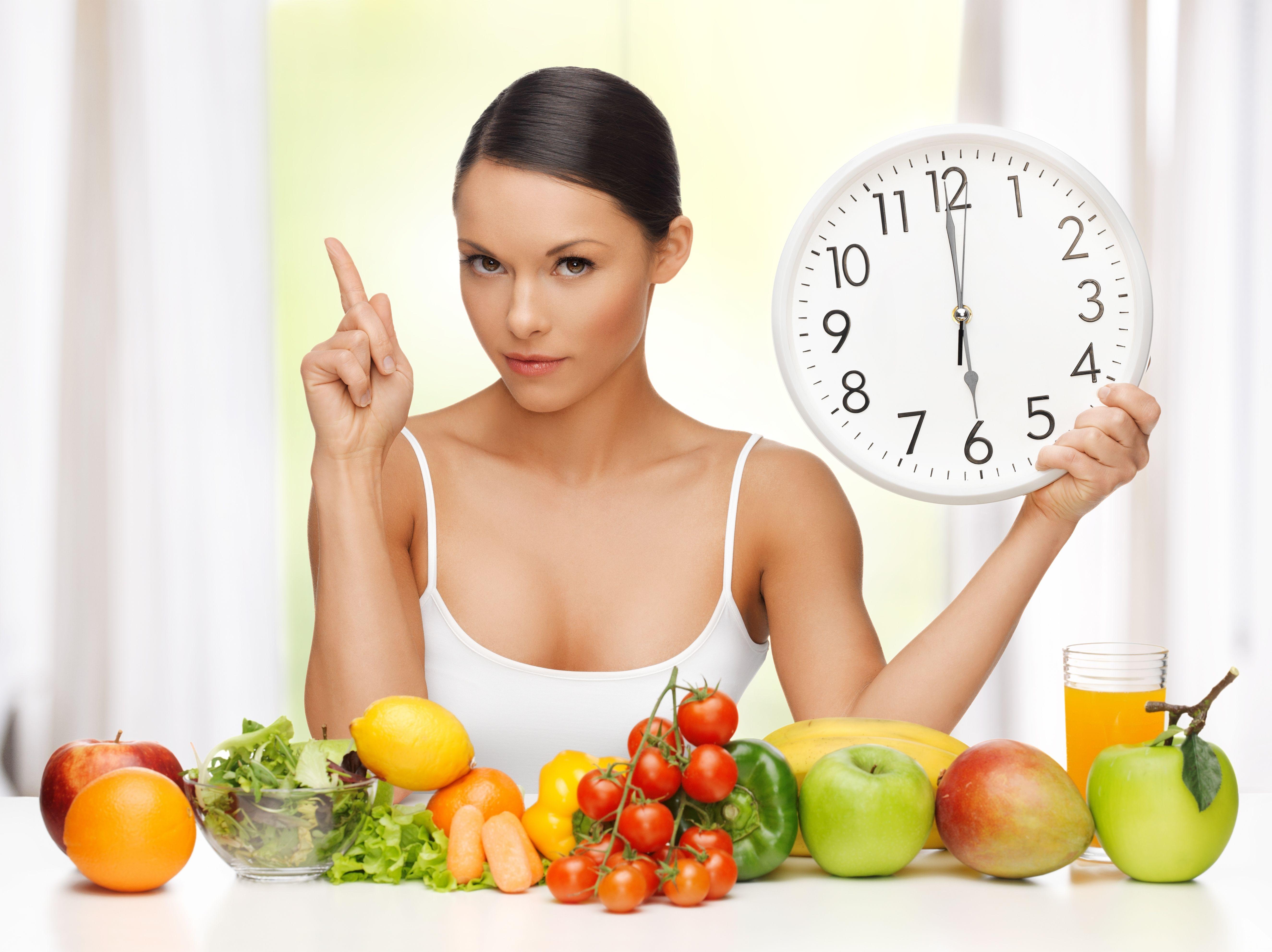 dieta reloj