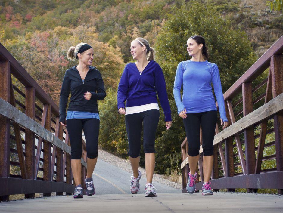 caminar ejercicio