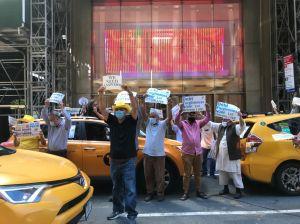 Los taxistas de Nueva York buscan medidas de alivio tras para forzada por el coronavirus