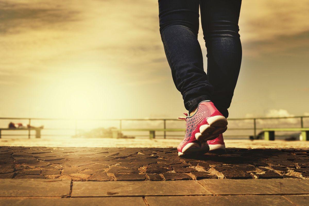 Si caminas con un propósito te sentirás más saludable