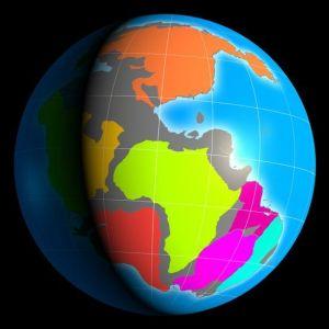 El mapa interactivo que permite viajar en el tiempo para ver cómo era el lugar en el que vives hace 600 millones de años