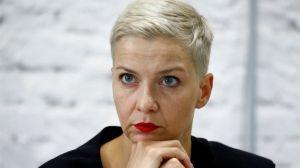 Encapuchados detienen a Maria Kolesnikova, la única de las 3 líderes opositoras que siguen en Bielorrusia