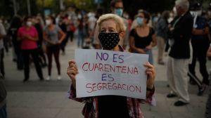 """El polémico """"confinamiento selectivo"""" de Madrid para frenar los contagios de coronavirus"""