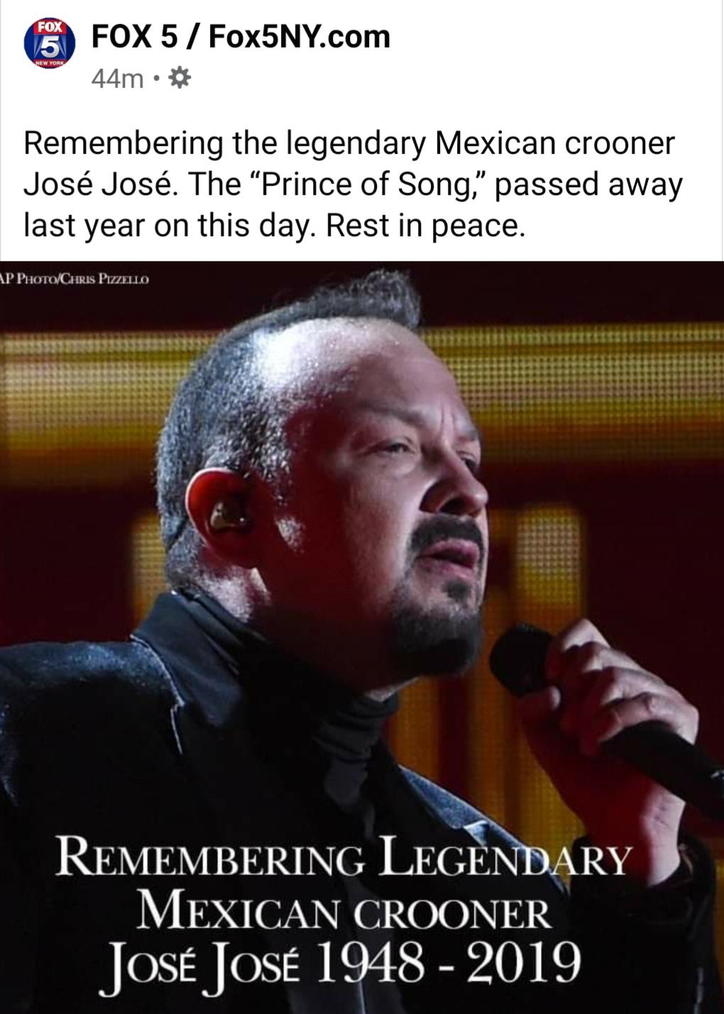 Pepe Aguilar y Jose Jose
