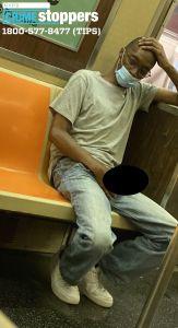 Hombre se saca el miembro en pleno vagón del tren en Brooklyn; NYPD divulga la foto