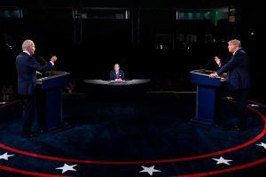 Las mentiras e inexactitudes dichas durante el debate presidencial entre Joe Biden y Donald Trump