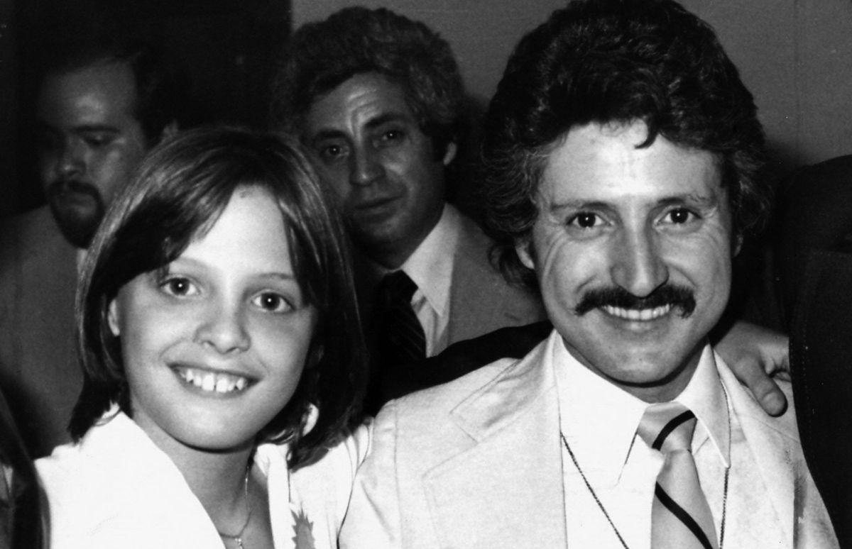 Luis Miguel junto a su papá Luisito Rey.
