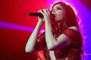 Ana Bárbara publica orgullosa que ofreció un concierto EN PLENA PANDEMIA ¡con público presencial!