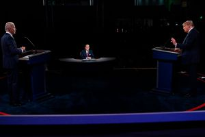 """Videos: Biden manda a callar a Trump al inicio del debate. Más tarde lo llama """"racista"""" y """"payaso"""""""