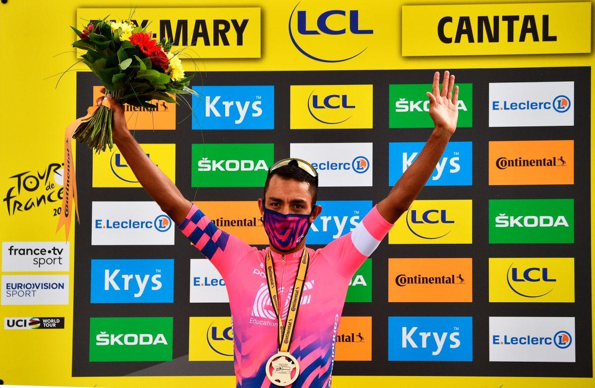 ¡Grande Colombia! Daniel Martínez gana la etapa 13 del Tour de France; en la general los cafeteros ocupan los puestos 3, 4, 5 y 6