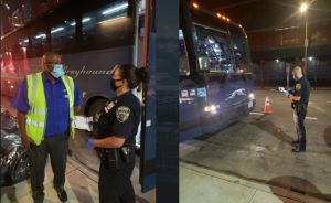Inspeccionarán por COVID-19 a pasajeros de buses que lleguen al Port Authority Bus Terminal