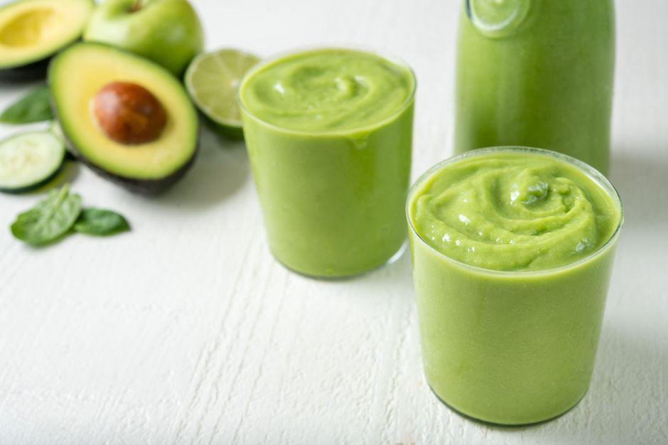 Aguacate líquido para un muy saludable desayuno