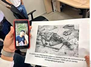 Madre de estudiante desaparecido en Ayotzinapa lo busca en Baja California