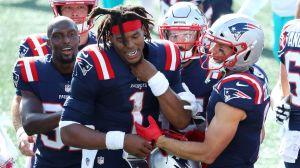 Newton hizo olvidar a Brady en triunfo de los Patriots