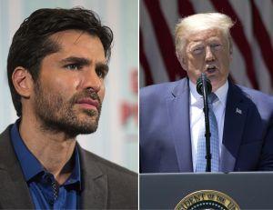 Trump apunta a exactor y modelo Eduardo Verástegui como asesor de comisión hispana de la Casa Blanca