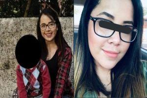 FOTOS: Así dejaron a joven madre asesinada a balazos frente a su hijito de 6 años
