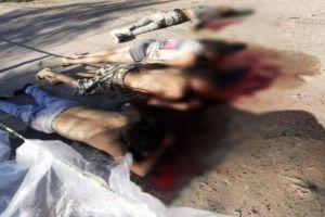 FOTOS: Sicarios matan brutalmente a 5 jóvenes; les dieron el tiro de gracia