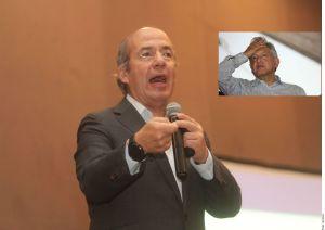 Calderón arremete contra AMLO ante fallido registro de nuevo partido político
