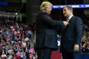 Trump pide a Ted Cruz que intervenga ante la Corte Suprema si aceptan demanda de Texas