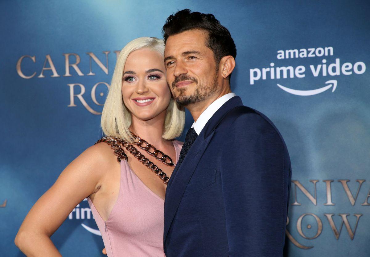 Orlando Bloom está encantando con los dotes maternales de Katy Perry