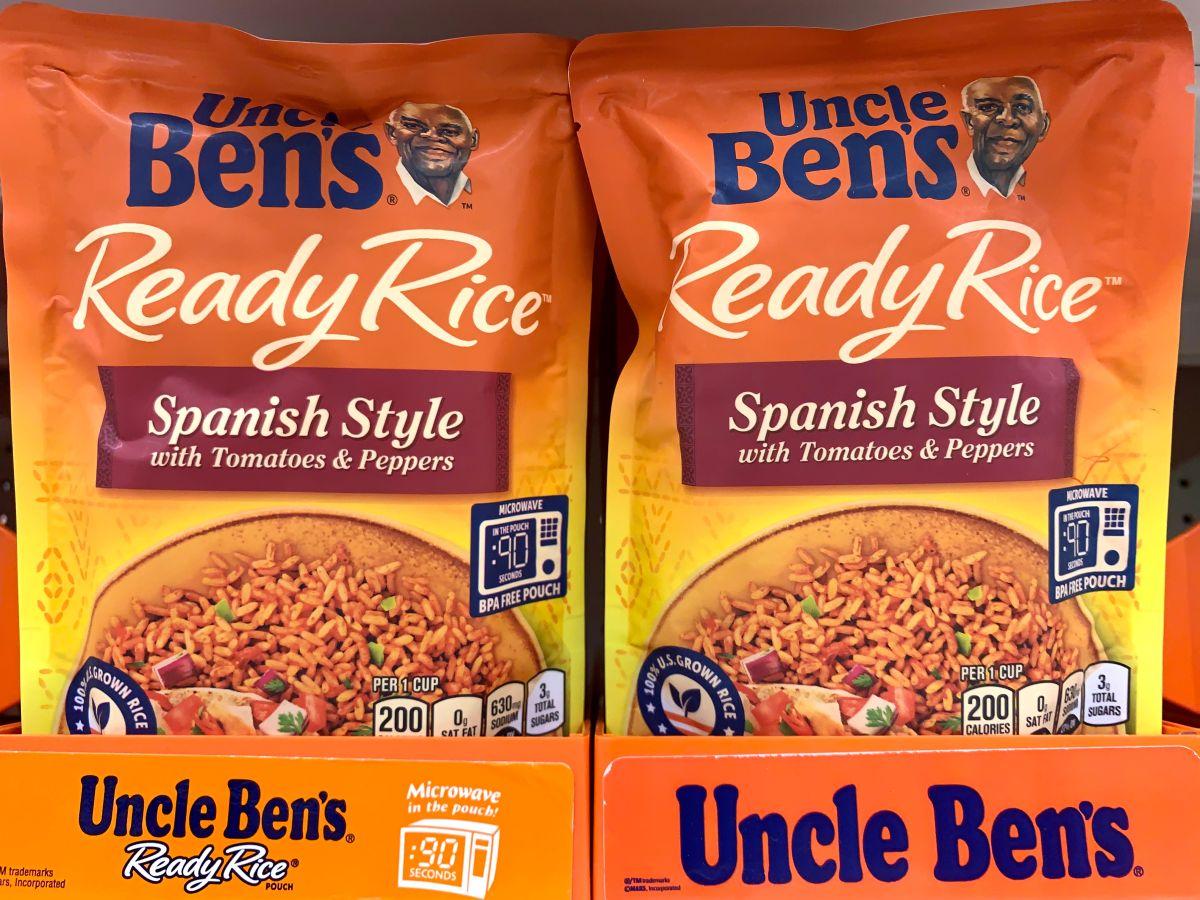 El arroz del Tío Ben busca eliminar asociaciones racistas con una nueva identidad de marca: Ben's Original