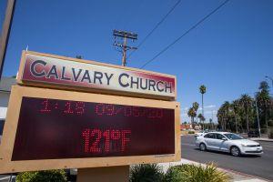 ¡120 grados F! Se rompen récords de calor en California y Bernie Sanders señala ignorancia de Trump