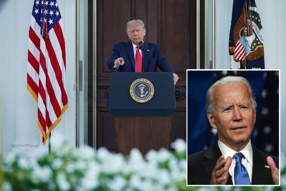 Trump afirma que vacuna contra coronavirus estará lista en octubre; Biden dice que se la pondría