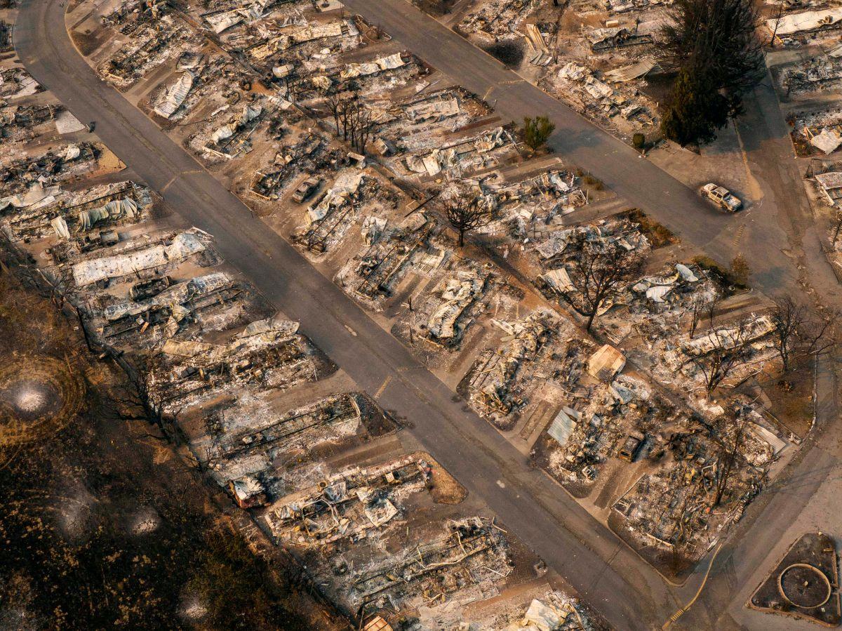 10% de la población de Oregon evacuada por incendios. Uno es investigado como premeditado