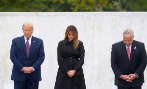 Trump pide unidad en el homenaje a las víctimas de los ataques del 9/11