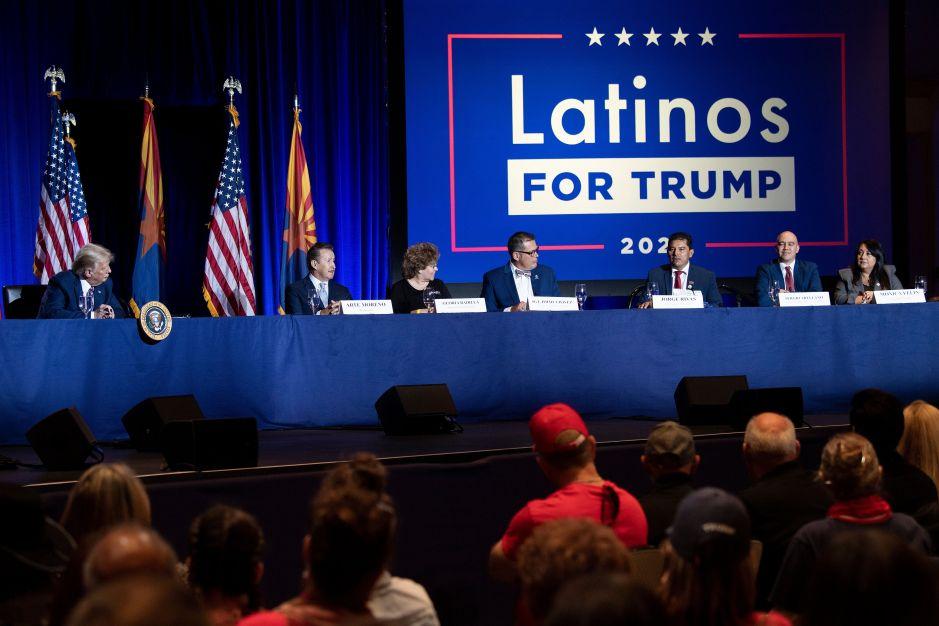 Trump aumenta el cortejo entre votantes latinos