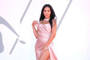Georgina Rodríguez luce como una diosa con un sensual vestido en el Festival de Cine de Venecia