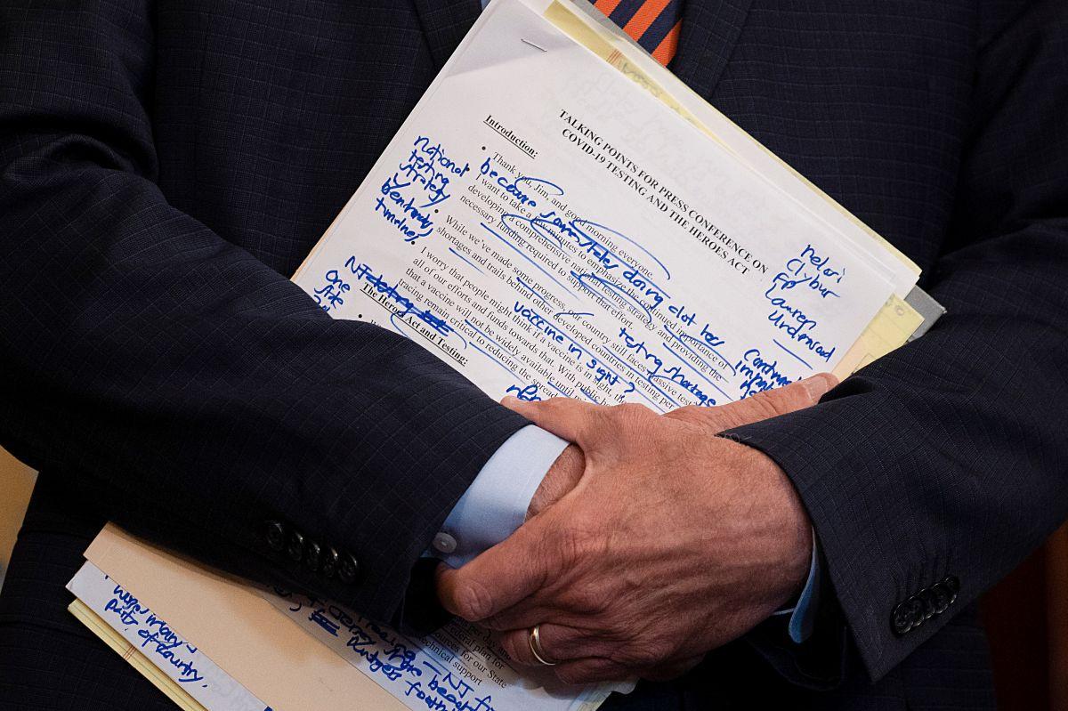 Trump se muestra a favor de lograr el paquete de estímulo