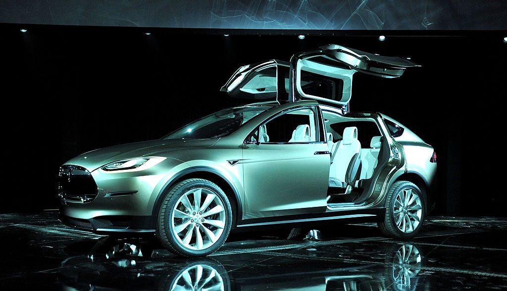 Tesla Model X. / Foto: Getty Images.