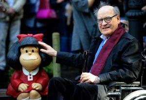Murió Quino, el legendario ilustrador creador de Mafalda