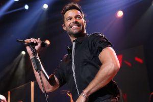 Ricky Martin enamora Instagram junto a su hijo Renn con una foto viral