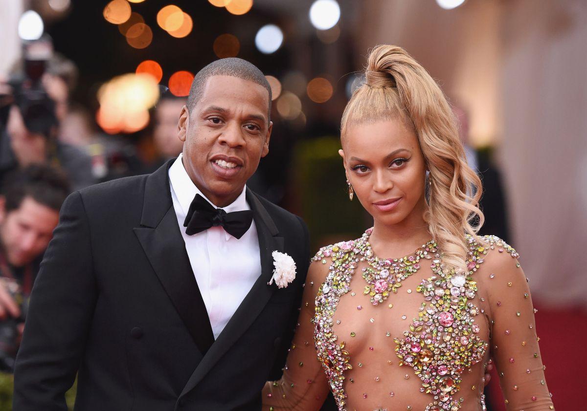 Jay Z y Beyonce.