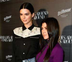 El accidente de vestuario que sufrió Kourtney Kardashian y que su hermana Kendall salvó