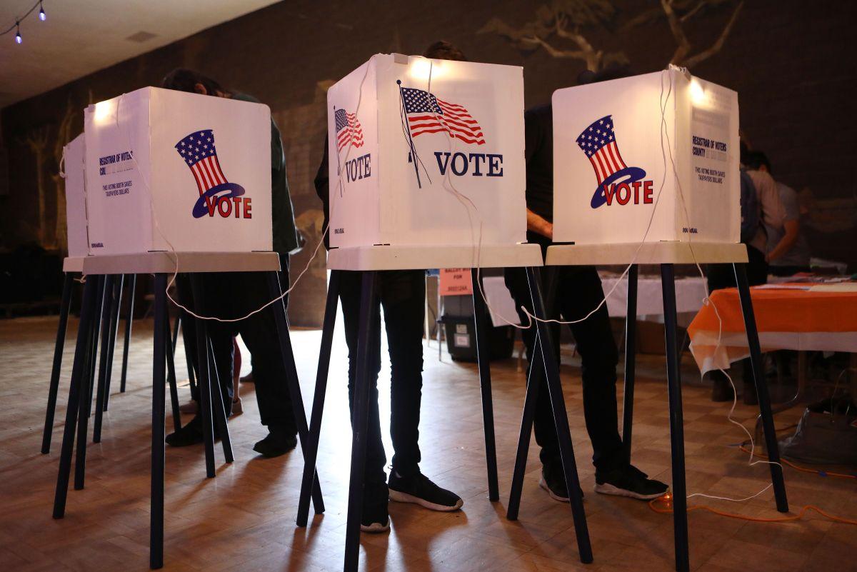 El 3 de noviembre es la elección general.