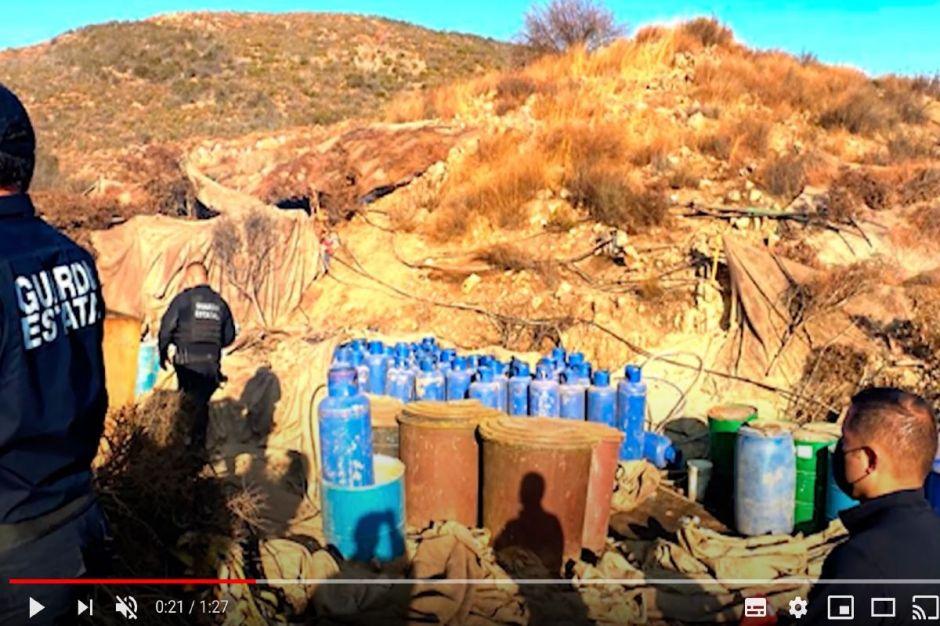 Enorme narcolaboratorio es desmantelado, estaba en zona turística de México