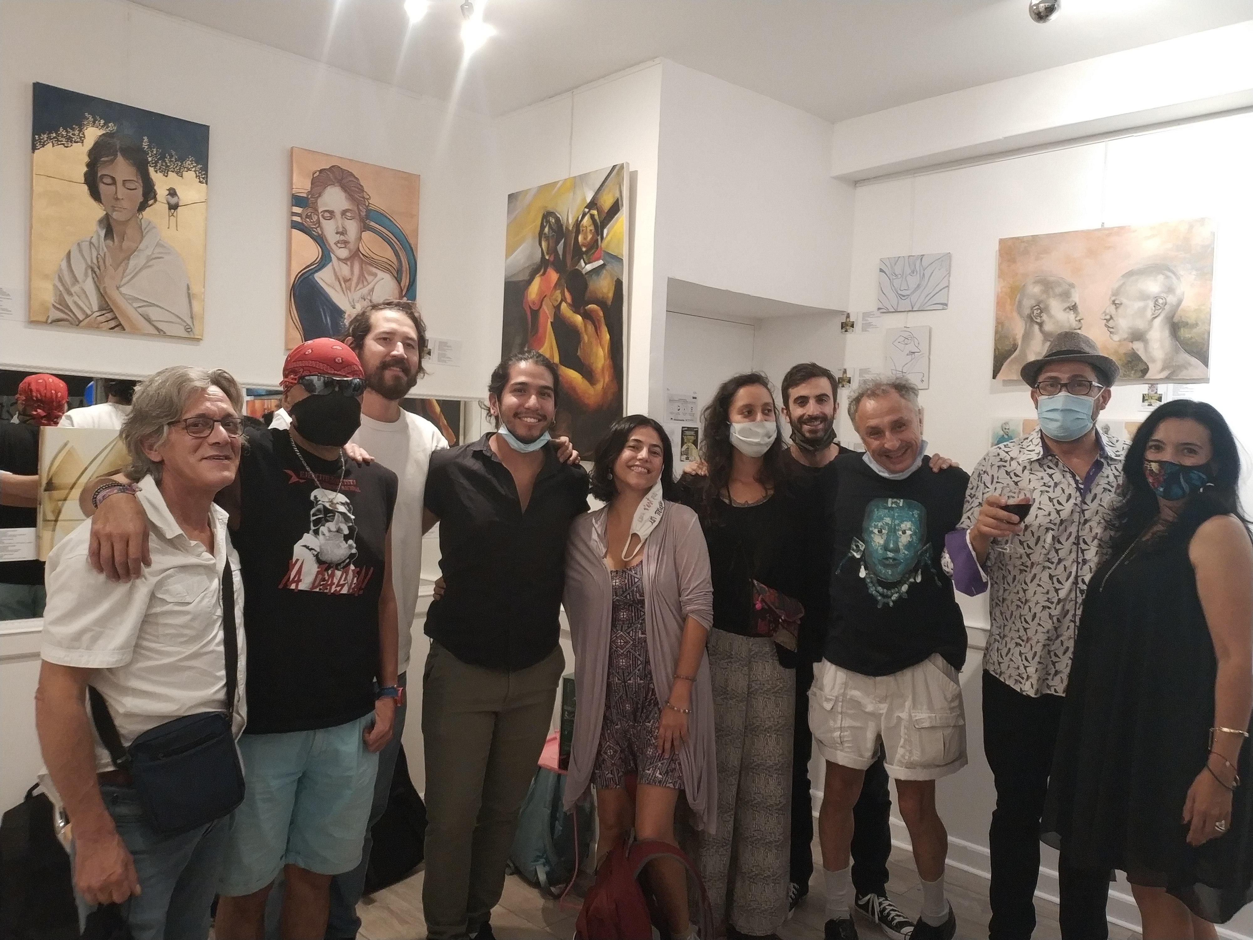 """Exposicion de arte """"La fórmula del arte"""""""
