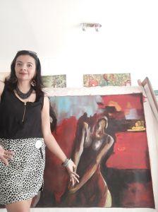 Adriana Silva, colombiana embajadora del arte latinoamericano en Europa y EEUU, regresa a París con nueva exposición