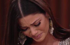 Ana Patricia Gámez no pudo más: Con dolor se pone a llorar en 'Enamorándonos'