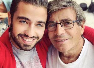Borja Voces: La emotiva sorpresa que le dio a su padre en su cumpleaños